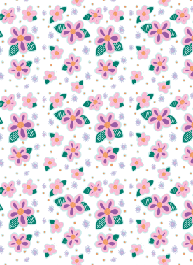 pinkpurpleflower-letter